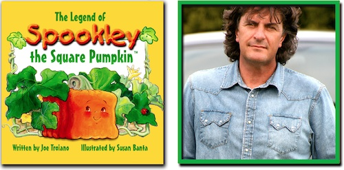 Spookley The Square Pumpkin book cover and Author