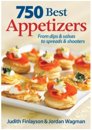 750 Best Appetizers cookbook review