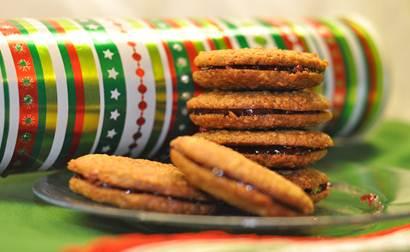 Kringle Spiced Pringle Cookies