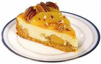 Lucky Leaf Caramel Apple Cheesecake recipe