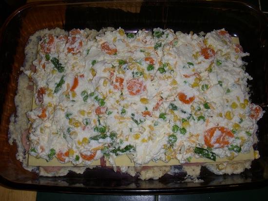 valmg's Country Ham And Vegetable Lasagna Recipe