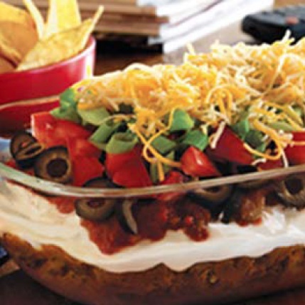 Bob Evans 7-Layer Taco Dip Recipe