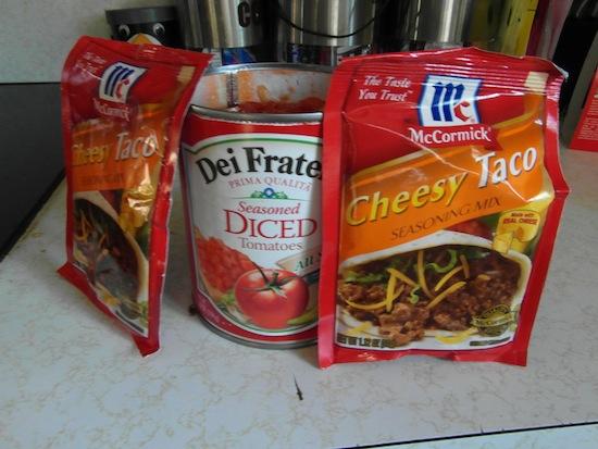 valmgs Cheesy Taco Chicken Ravioli recipe