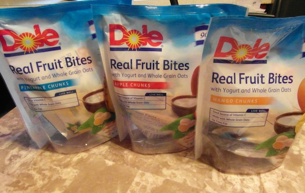Dole Real Fruit Bites review