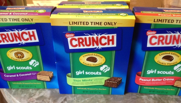 Wordless Wednesday - Girl Scout Nestle Crunch Candy Bars