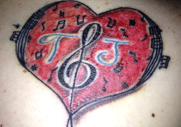 Wordless Wednesday - TJ tattoo