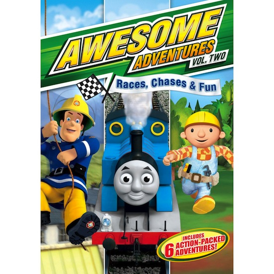 Awesome Adventures Volume Two Dvd
