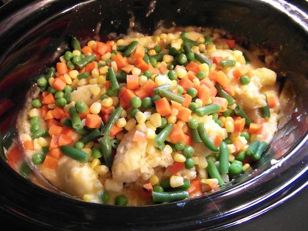 valmgs Gluten-free Crockpot Creamy Chicken Vegetable Dumplings Recipe