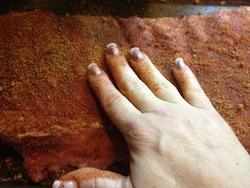 valmgs Sweet Bacon Rib Recipe - Rubbing Ribs