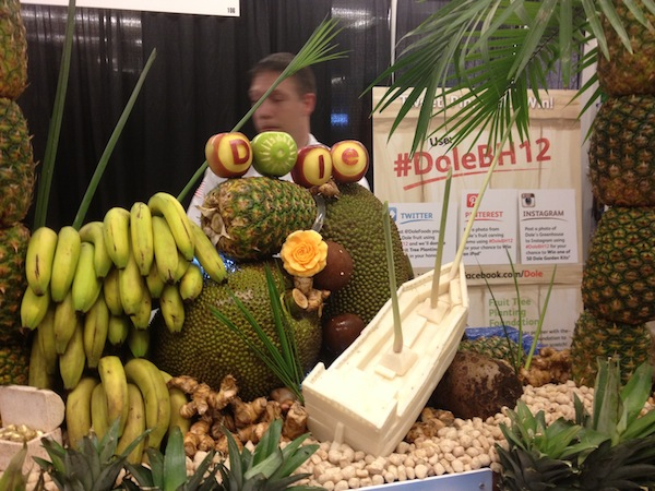 Dole Pineapple Boat