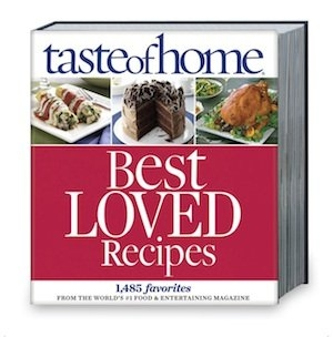 Taste Of Home Best Loved Recipes Cookbook