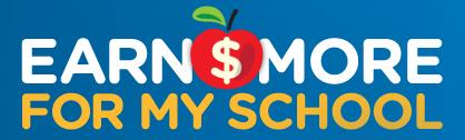 Earn More For My School Logo