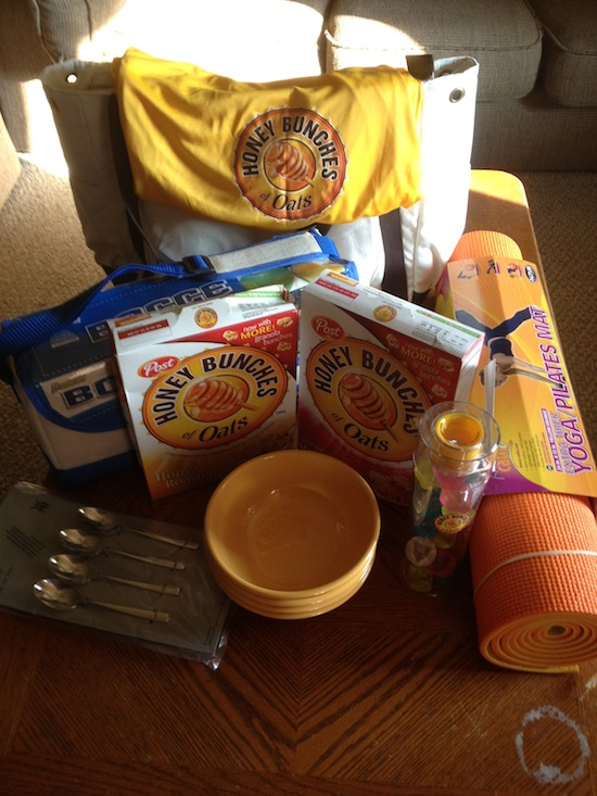 Honey Bunches Of Oats cereal - summer survival kit