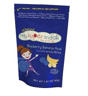 MySuperSnack - Blueberry Banana Acai