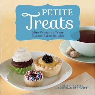 Petite Treats Cookbook Cover
