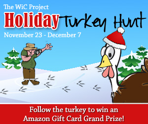 Wic Project 2012 Holiday Turkey Hunt Blog Hop banner
