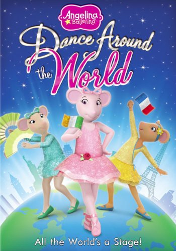 Angelina Ballerina: Dance Around The World Dvd