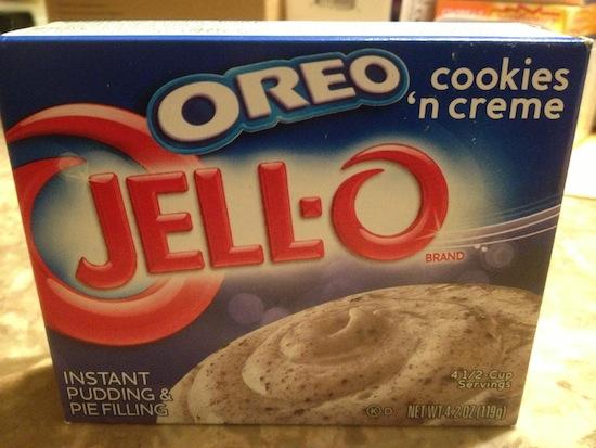 Wordless Wednesday - Oreo Pudding Box