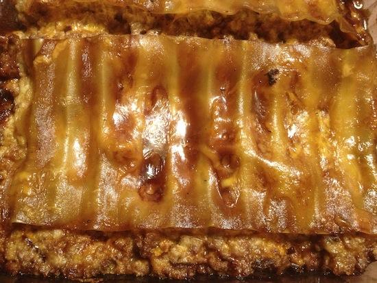 valmg's Cheddar Beef Lasagna Recipe