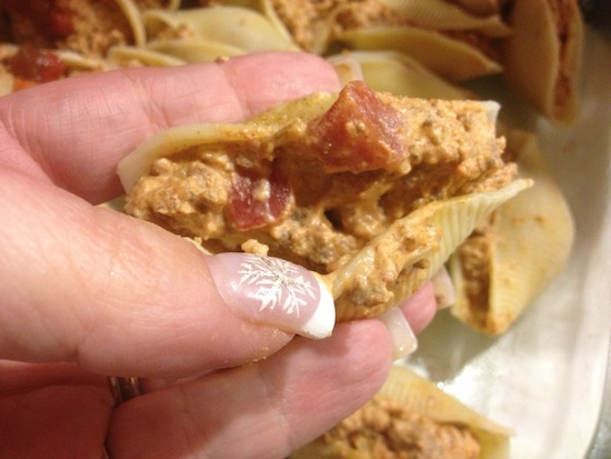 valmgs Cheesy Taco Stuffed Shells Recipe