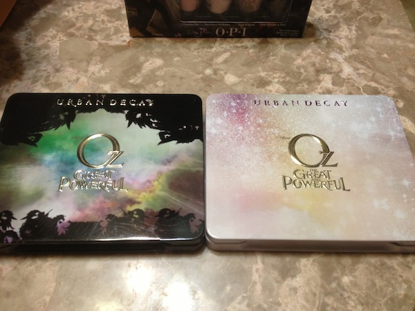 Urban Decay makeup palettes inspired by the Oz The Great And Powerful movie - #DisneyOzEvent