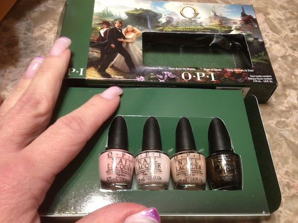 Val OPI Limited Edition Nail Colors inspired by the movie OZ The Great And Powerful - #DisneyOzEvbent