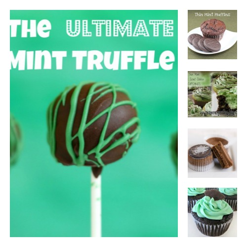 5 Thin Mint Pop Cupcake and Truffle Recipes