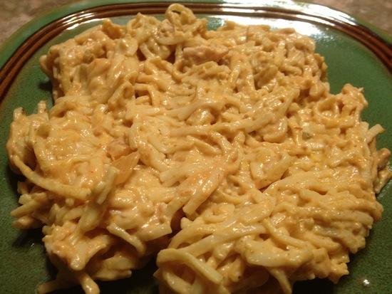 valmgs Easy Cheesy Taco Chicken Spaghetti recipe