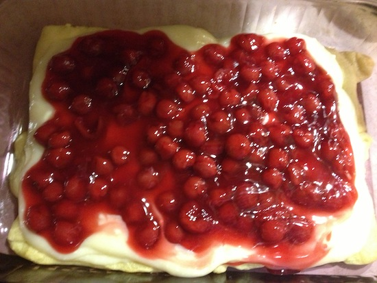 Lucky Leaf - Cherry Cheese Danish Recipe