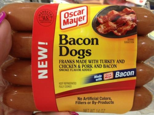 WW - Bacon Hot dogs