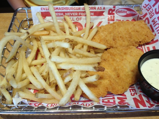 Smashburger, Brick, NJ - Kids Chicken