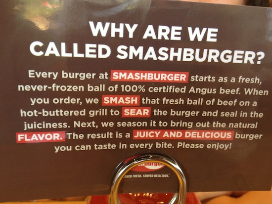 Smashburger restaurant, Brick, NJ