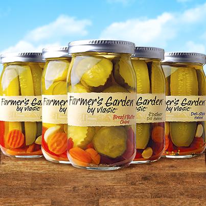Vlasic Farmers Garden Jars