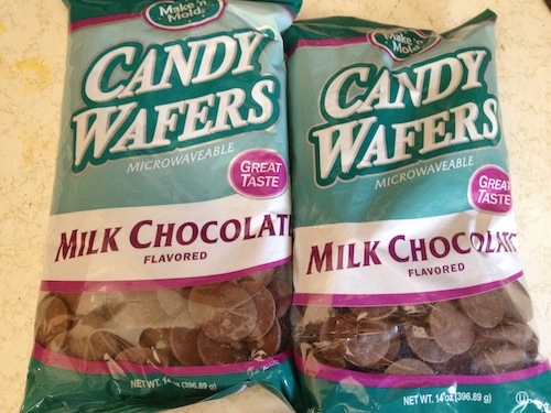 Chocolate Candy Wafers for making Chocolate Covered Milanos