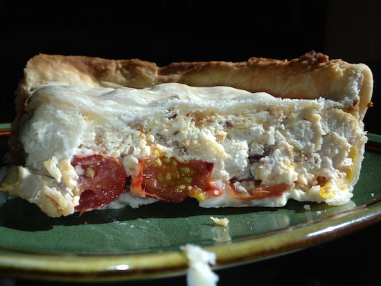Cheesy Chicken And Heirloom Tomato Pie Recipe - Whole Foods