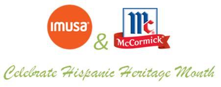 Imusa And McCormick Celebrate Hispanic Heritage Month