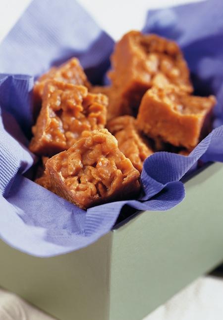 No-Bake Crispy Peanut Butter Squares Recipe