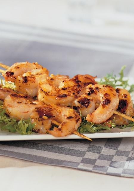 Shrimp Satay Recipe From 125 Best Indoor Grill Recipes Cookbook
