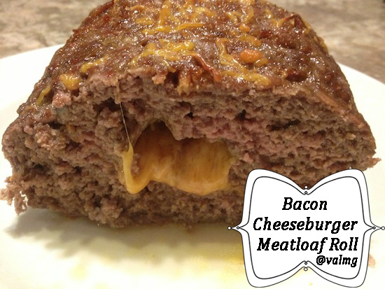Bacon Cheeseburger Meatloaf Roll Recipe