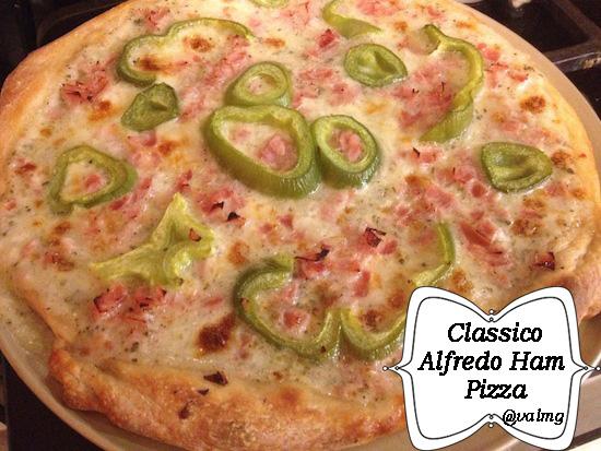 Classico Alfredo Ham Pizza Recipe