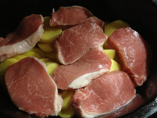 Recipe For Crockpot Creamy Bacon Ranch Pork Chops