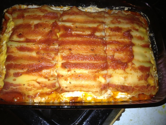 My Number 1 Lasagna Recipe
