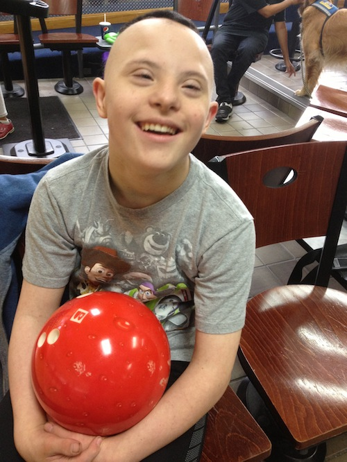 WW - C With Bowling Ball
