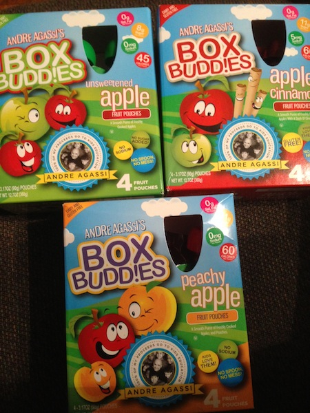 Andre Agassi's Box Budd!es Kids Snacks