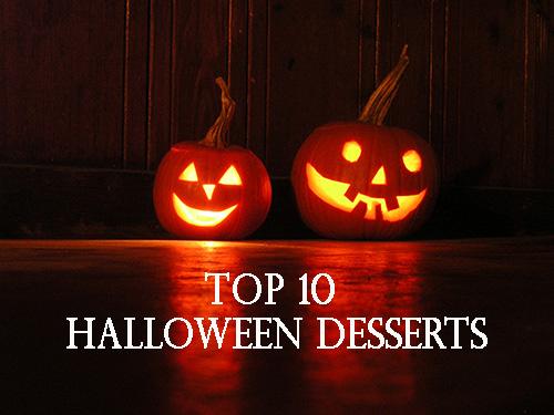 top 10 halloween desserts