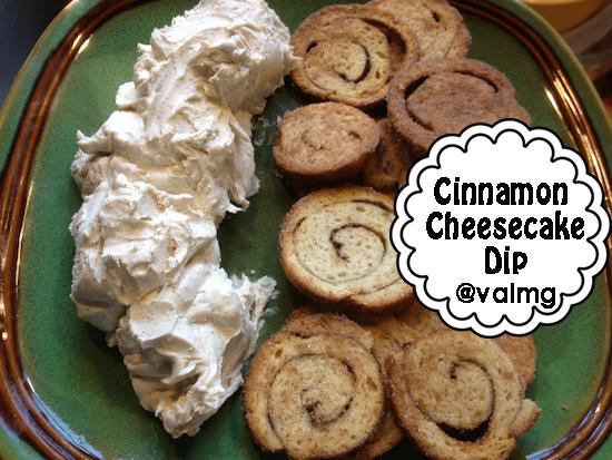 Creamy Cinnamon Cheesecake Dip Recipe