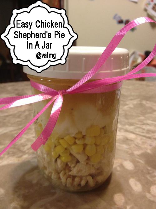 Easy Chicken Shepherd's Pie In A Jar