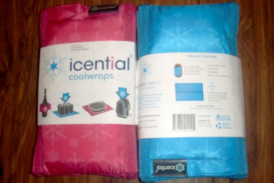 Icential Coolwraps portable cooling system