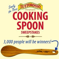 Tuttorosso Cooking Spoon Sweepstakes