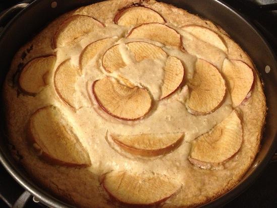 Homemade Apple Cheesecake Recipe